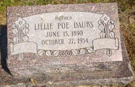POE DAUBS, LILLIE - Mississippi County, Arkansas | LILLIE POE DAUBS - Arkansas Gravestone Photos