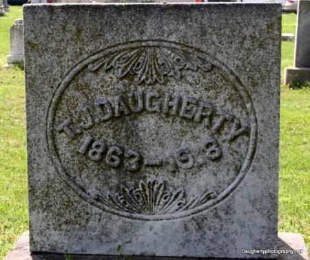 DAUGHERTY, T. J. - Mississippi County, Arkansas | T. J. DAUGHERTY - Arkansas Gravestone Photos