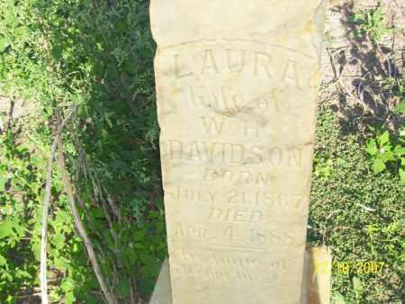 DAVIDSON, LAURA - Mississippi County, Arkansas   LAURA DAVIDSON - Arkansas Gravestone Photos
