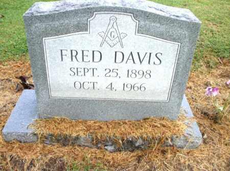 DAVIS, FRED - Mississippi County, Arkansas | FRED DAVIS - Arkansas Gravestone Photos