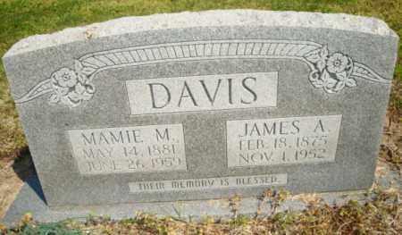 DAVIS, JAMES A - Mississippi County, Arkansas | JAMES A DAVIS - Arkansas Gravestone Photos