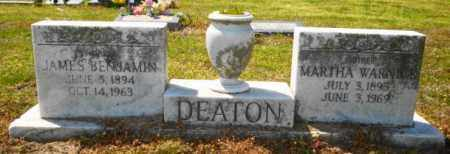 DEATON, JAMES BENJAMIN - Mississippi County, Arkansas | JAMES BENJAMIN DEATON - Arkansas Gravestone Photos