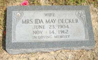 DECKER, IDA MAY - Mississippi County, Arkansas | IDA MAY DECKER - Arkansas Gravestone Photos