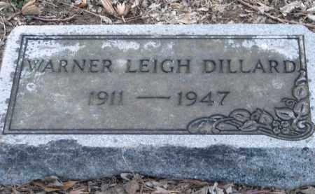 DILLARD, WARNER LEIGH - Mississippi County, Arkansas   WARNER LEIGH DILLARD - Arkansas Gravestone Photos