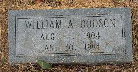 DODSON, WILLIAM A. - Mississippi County, Arkansas | WILLIAM A. DODSON - Arkansas Gravestone Photos
