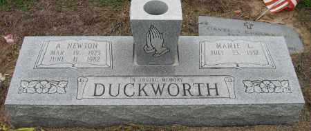 DUCKWORTH, A. NEWTON - Mississippi County, Arkansas | A. NEWTON DUCKWORTH - Arkansas Gravestone Photos