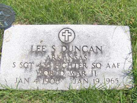 DUNCAN (VETERAN WWII), LEE S. - Mississippi County, Arkansas   LEE S. DUNCAN (VETERAN WWII) - Arkansas Gravestone Photos