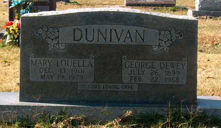 DUNIVAN, MARY LOUELLA - Mississippi County, Arkansas | MARY LOUELLA DUNIVAN - Arkansas Gravestone Photos