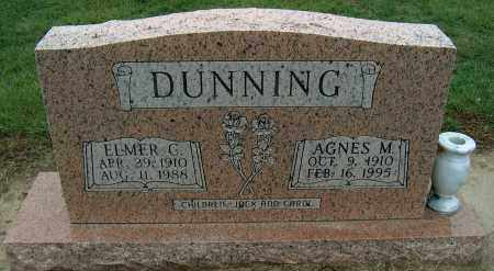 DUNNING, ELMER C - Mississippi County, Arkansas   ELMER C DUNNING - Arkansas Gravestone Photos