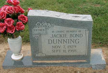 DUNNING, JACKIE BOND - Mississippi County, Arkansas | JACKIE BOND DUNNING - Arkansas Gravestone Photos