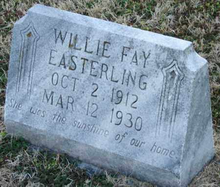 EASTERLING, WILLIE FAY - Mississippi County, Arkansas | WILLIE FAY EASTERLING - Arkansas Gravestone Photos