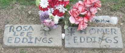 EDDINGS, HOMER - Mississippi County, Arkansas | HOMER EDDINGS - Arkansas Gravestone Photos