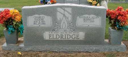 ELDRIDGE, CHARLES EUGENE - Mississippi County, Arkansas | CHARLES EUGENE ELDRIDGE - Arkansas Gravestone Photos