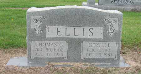 ELLIS, GERTIE E. - Mississippi County, Arkansas   GERTIE E. ELLIS - Arkansas Gravestone Photos