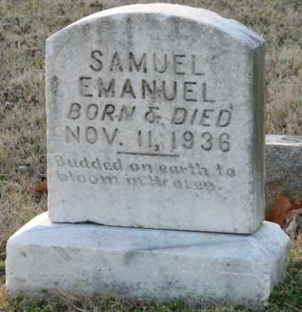 EMANUEL, SAMUEL - Mississippi County, Arkansas | SAMUEL EMANUEL - Arkansas Gravestone Photos