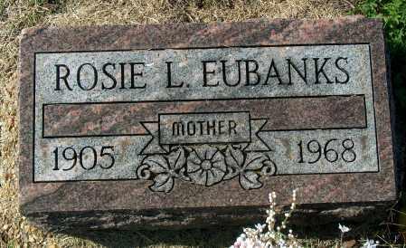 EUBANKS, ROSIE L - Mississippi County, Arkansas | ROSIE L EUBANKS - Arkansas Gravestone Photos