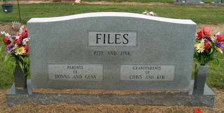 FILES, JINK LOUISE - Mississippi County, Arkansas   JINK LOUISE FILES - Arkansas Gravestone Photos