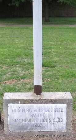 *FLAG POLE,  - Mississippi County, Arkansas    *FLAG POLE - Arkansas Gravestone Photos