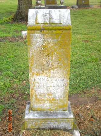 FLEEMAN, EMMA - Mississippi County, Arkansas   EMMA FLEEMAN - Arkansas Gravestone Photos