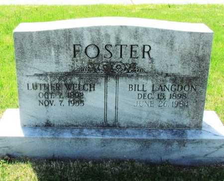 FOSTER, LUTHER WELCH - Mississippi County, Arkansas   LUTHER WELCH FOSTER - Arkansas Gravestone Photos