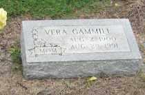 GAMMILL, VERA - Mississippi County, Arkansas | VERA GAMMILL - Arkansas Gravestone Photos