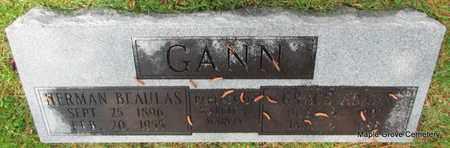 ADAMS GANN, GRACE - Mississippi County, Arkansas | GRACE ADAMS GANN - Arkansas Gravestone Photos