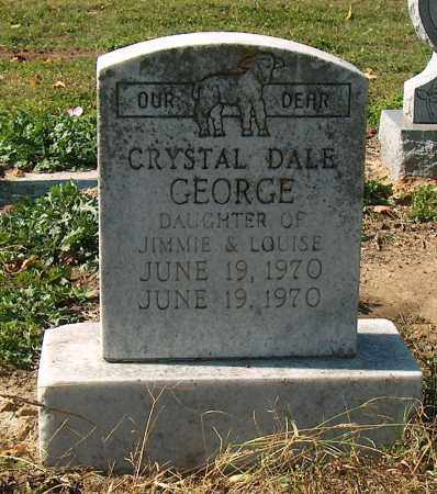 GEORGE, CRYSTAL DALE - Mississippi County, Arkansas | CRYSTAL DALE GEORGE - Arkansas Gravestone Photos