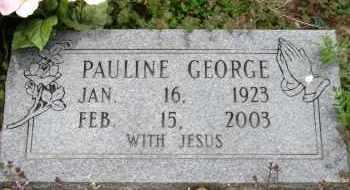 GEORGE, PAULINE - Mississippi County, Arkansas | PAULINE GEORGE - Arkansas Gravestone Photos