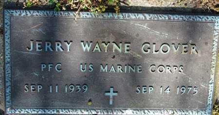 GLOVER (VETERAN), JERRY WAYNE - Mississippi County, Arkansas   JERRY WAYNE GLOVER (VETERAN) - Arkansas Gravestone Photos