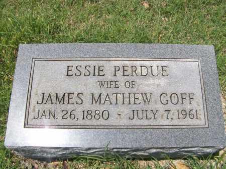 GOFF, ESSIE MAE - Mississippi County, Arkansas | ESSIE MAE GOFF - Arkansas Gravestone Photos