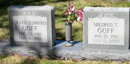 GOFF, GRADY EDWARD - Mississippi County, Arkansas | GRADY EDWARD GOFF - Arkansas Gravestone Photos