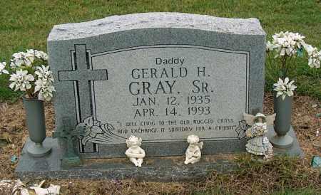 GRAY, GERALD H. SR. - Mississippi County, Arkansas | GERALD H. SR. GRAY - Arkansas Gravestone Photos