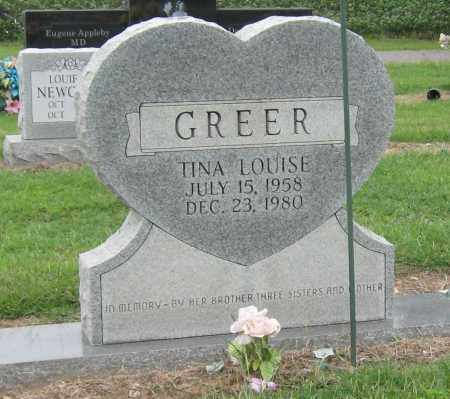 GREER, TINA LOUISE - Mississippi County, Arkansas | TINA LOUISE GREER - Arkansas Gravestone Photos