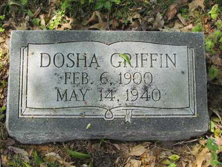 GRIFFIN, DOSHA - Mississippi County, Arkansas | DOSHA GRIFFIN - Arkansas Gravestone Photos