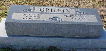 GRIFFIN, MARY PEARL - Mississippi County, Arkansas | MARY PEARL GRIFFIN - Arkansas Gravestone Photos