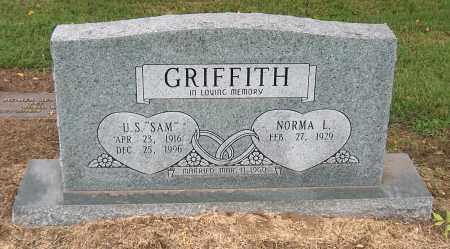 "GRIFFITH, U. S. ""SAM"" - Mississippi County, Arkansas | U. S. ""SAM"" GRIFFITH - Arkansas Gravestone Photos"