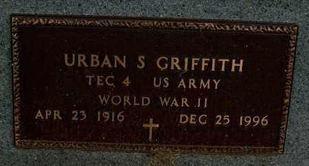 GRIFFITH (VETERAN WWII), URBAN S - Mississippi County, Arkansas   URBAN S GRIFFITH (VETERAN WWII) - Arkansas Gravestone Photos