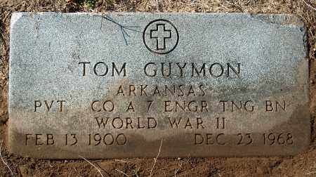 GUYMON (VETERAN WWII), TOM - Mississippi County, Arkansas | TOM GUYMON (VETERAN WWII) - Arkansas Gravestone Photos