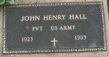 HALL (VETERAN), JOHN HENRY - Mississippi County, Arkansas | JOHN HENRY HALL (VETERAN) - Arkansas Gravestone Photos