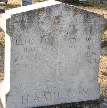 HAMILTON, IDA W. - Mississippi County, Arkansas | IDA W. HAMILTON - Arkansas Gravestone Photos