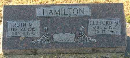 HAMILTON, CLIFFORD M - Mississippi County, Arkansas | CLIFFORD M HAMILTON - Arkansas Gravestone Photos