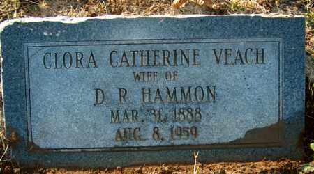 VEACH HAMMON, CLORA CATHERINE - Mississippi County, Arkansas | CLORA CATHERINE VEACH HAMMON - Arkansas Gravestone Photos