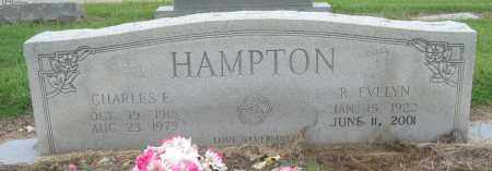 HAMPTON, R EVELYN - Mississippi County, Arkansas   R EVELYN HAMPTON - Arkansas Gravestone Photos