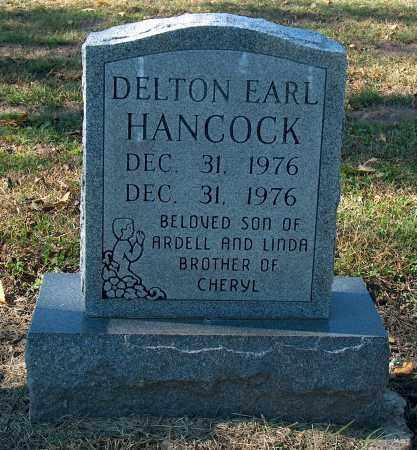 HANCOCK, DELTON EARL - Mississippi County, Arkansas   DELTON EARL HANCOCK - Arkansas Gravestone Photos