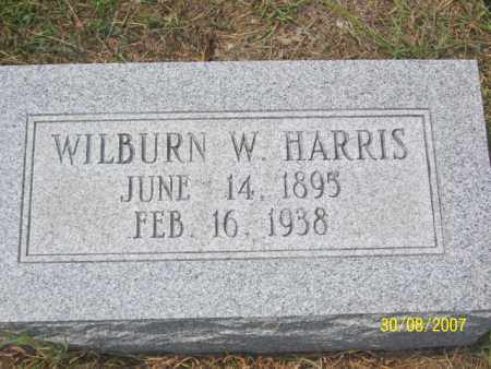 HARRIS, WILBURN W, - Mississippi County, Arkansas | WILBURN W, HARRIS - Arkansas Gravestone Photos