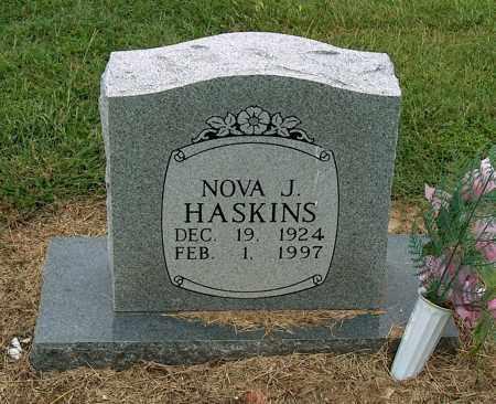 HASKINS, NOVA J. - Mississippi County, Arkansas | NOVA J. HASKINS - Arkansas Gravestone Photos