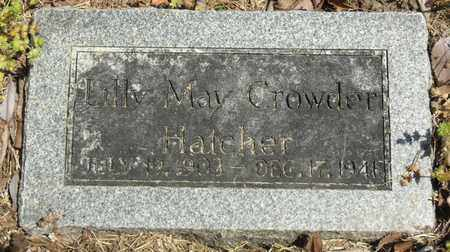 HATCHER, LILLY MAY - Mississippi County, Arkansas | LILLY MAY HATCHER - Arkansas Gravestone Photos