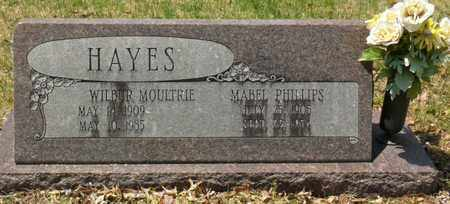HAYES, WILBUR  MOULTRIE - Mississippi County, Arkansas | WILBUR  MOULTRIE HAYES - Arkansas Gravestone Photos
