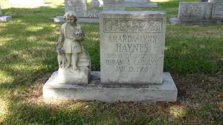 HAYNES, AMANDA LYNN - Mississippi County, Arkansas | AMANDA LYNN HAYNES - Arkansas Gravestone Photos