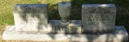 HAYNES, ALVIN M - Mississippi County, Arkansas | ALVIN M HAYNES - Arkansas Gravestone Photos